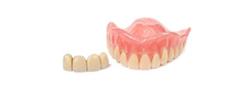 Потерялось несколько зубов в протезе